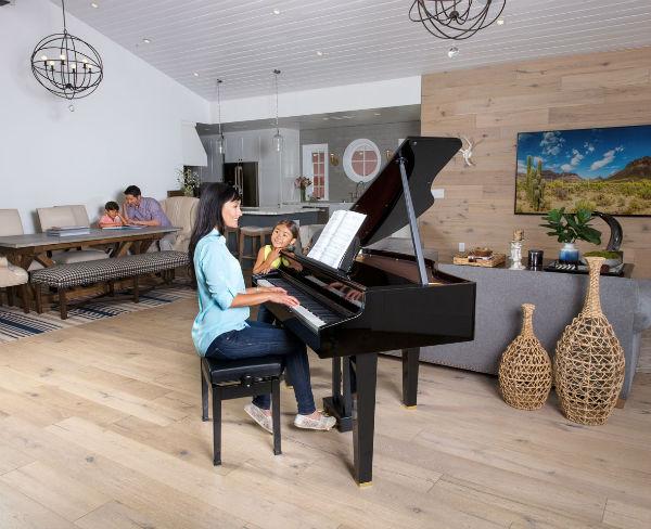 đàn piano roland gp-607