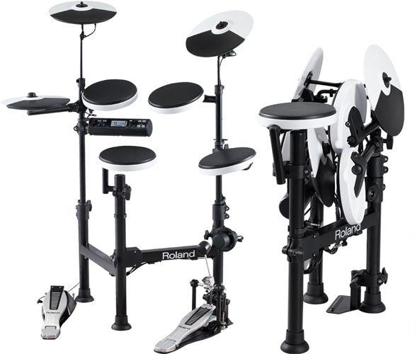 V-Drum Portable TD-4KP đã làm tăng tính linh hoạt của ngành trống điện tử đúng với cái tên Portable mà Roland đã đặt tên cho nó.