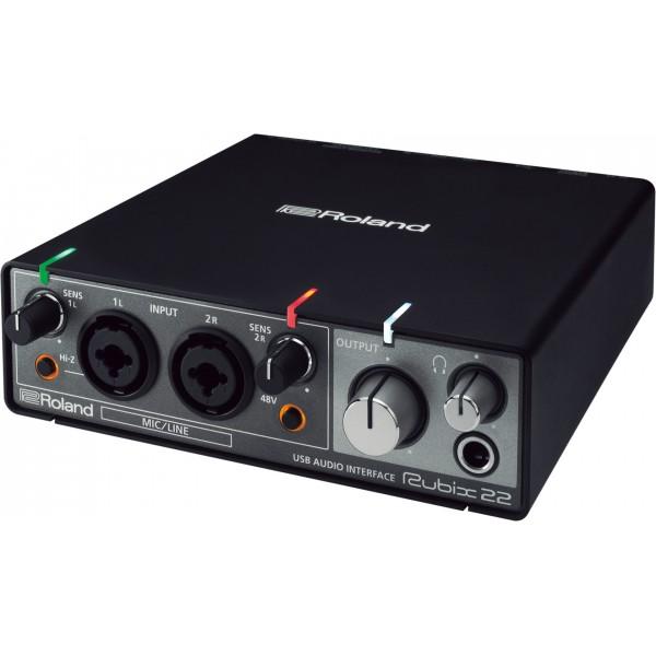 SoundCard Roland Rubix 22