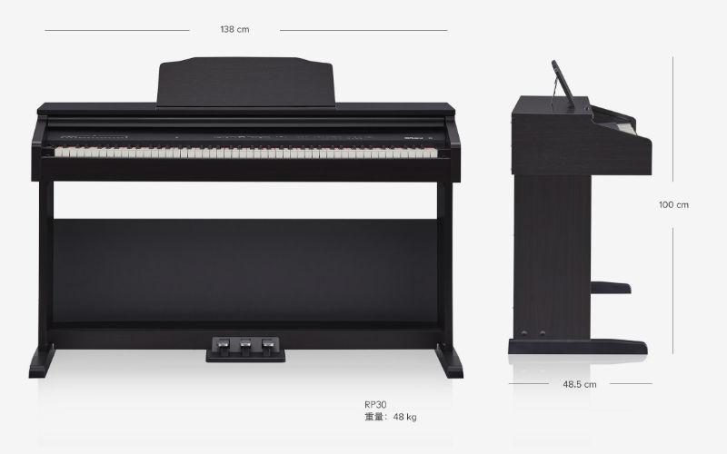 đàn piano roland rp-30