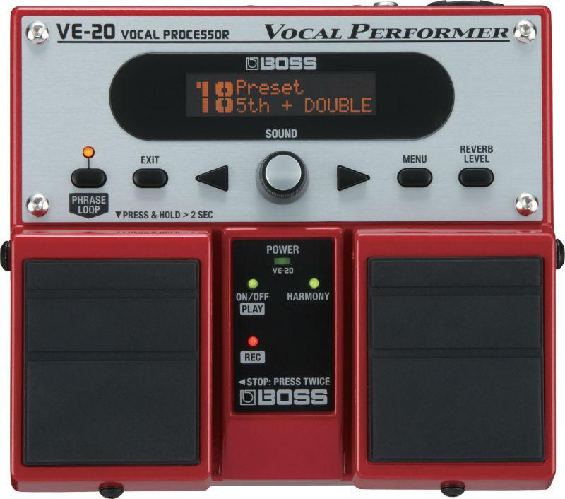 phơ giọng hát Boss VE-20