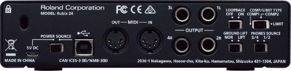 SoundCard Roland Rubix-24