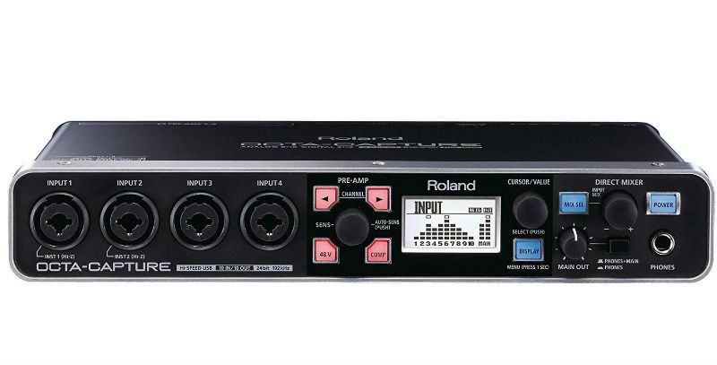 Soundcard Roland OCTA-CAPTURE