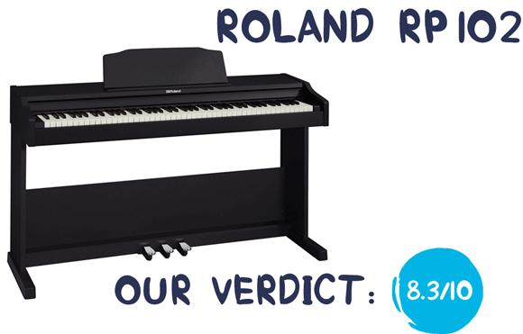 tổng quan piano điện roland rp 102