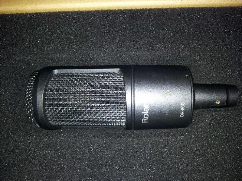 mic Roland DR-80C