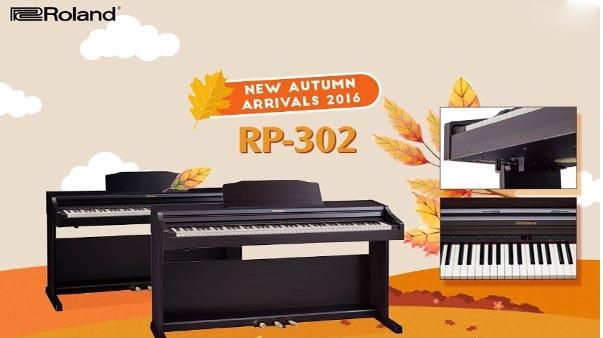 Đánh giá cây đàn piano điện Roland RP-302