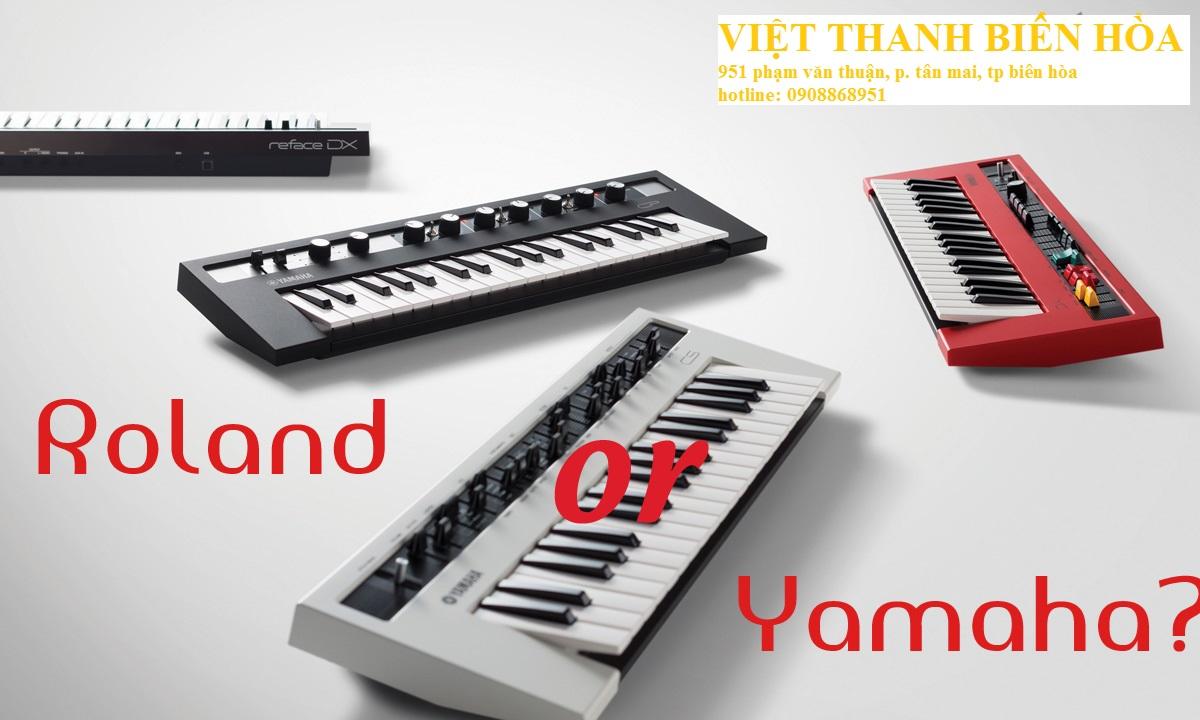 đánh giá keyboard roland với keyboard yamaha