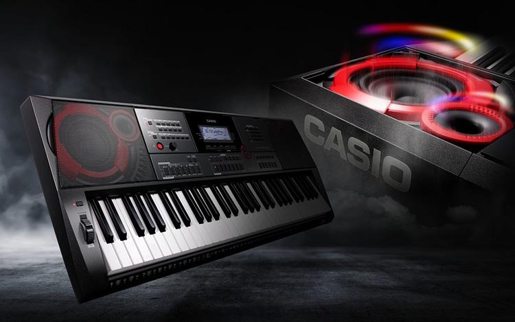 Tính năng Freeze trên đàn Organ Casio