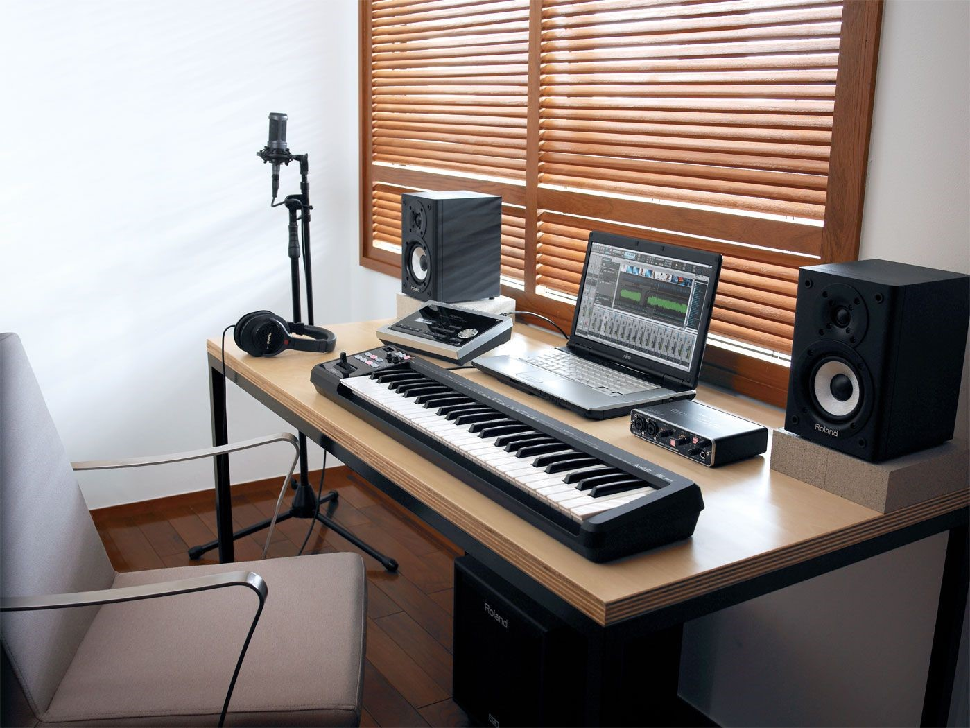 setup phong thu tai nha