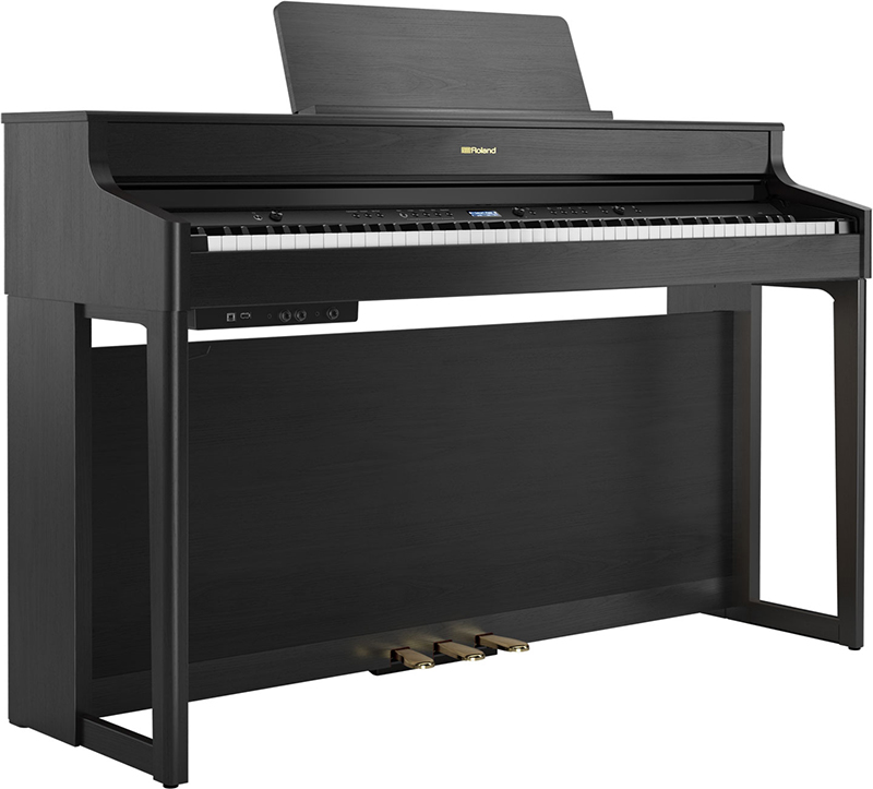 dan piano roland hp-702 mau den