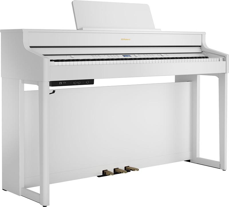 dan piano roland hp-702 mau trang