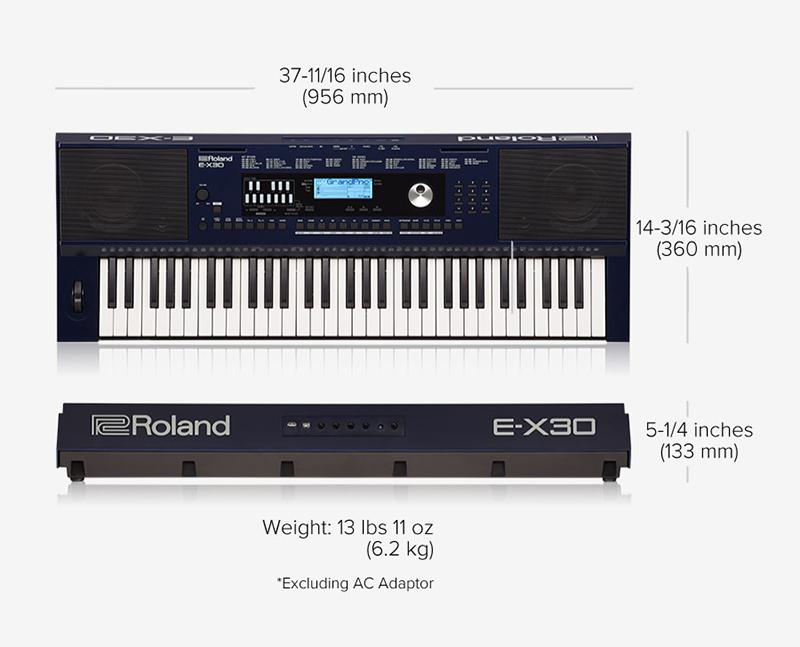 gia organ roland e-x30