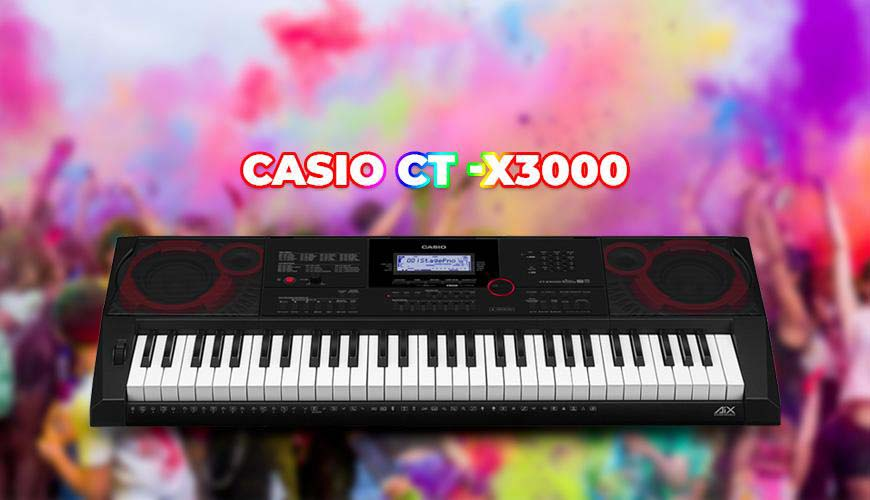 Đàn organ Casio CT-X3000