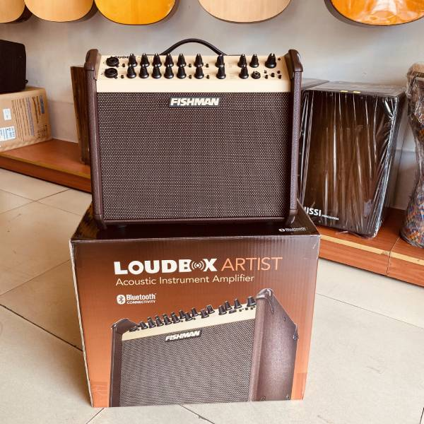amply Fishman Loudbox Artist guitar thùng